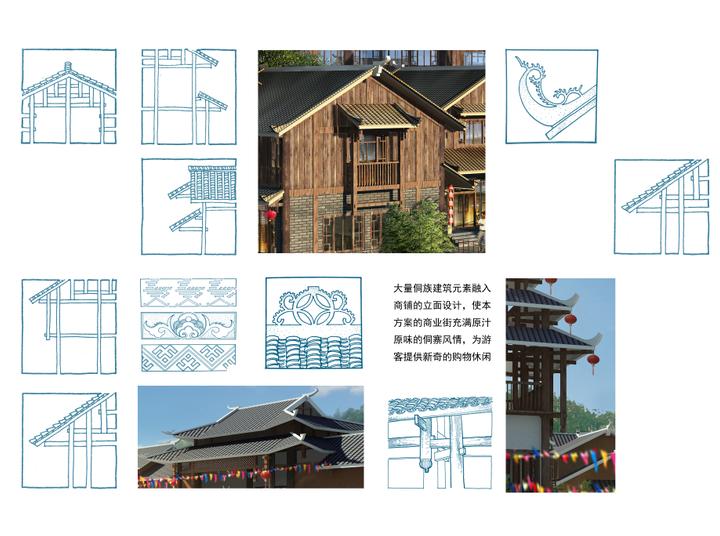广西百家宴民俗旅游及商业街建筑方案设计_7