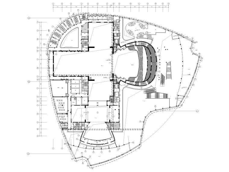 [吉林]37000㎡人民剧院装修设计工程施工图_3