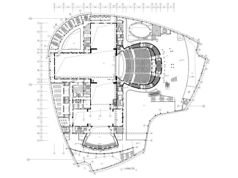 [吉林]37000㎡人民剧院装修设计工程施工图_2