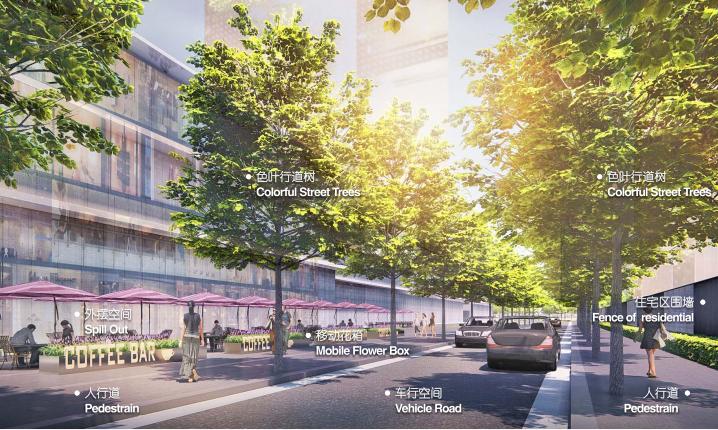 [成都]商业综合体及道路两侧景观方案_2