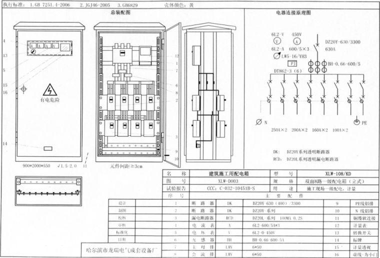 临电容量计算、变压器电缆选型、配电箱安装_9