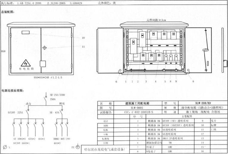 临电容量计算、变压器电缆选型、配电箱安装_14