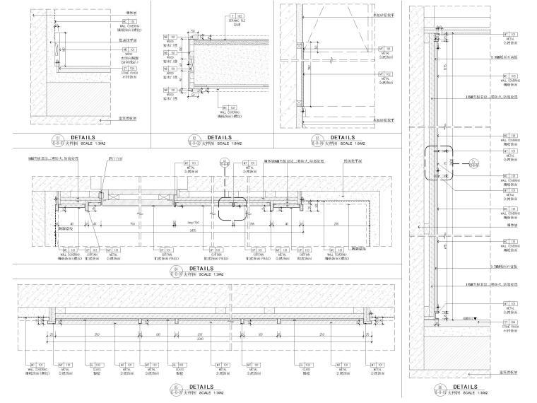 [江苏]85㎡现代两居室家装样板间装修施工图_9