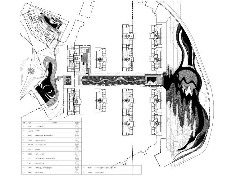 [香港]壹号居住区景观设计CAD施工图+实景图_2