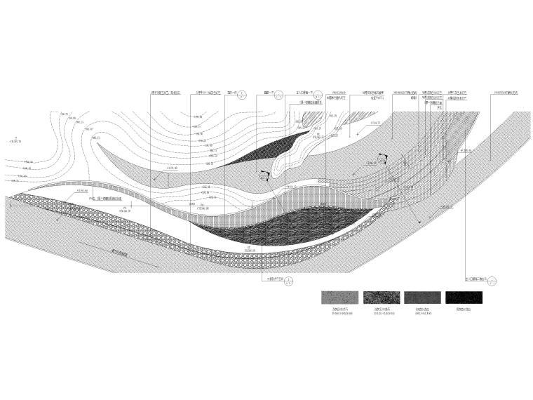 [香港]壹号居住区景观设计CAD施工图+实景图_4