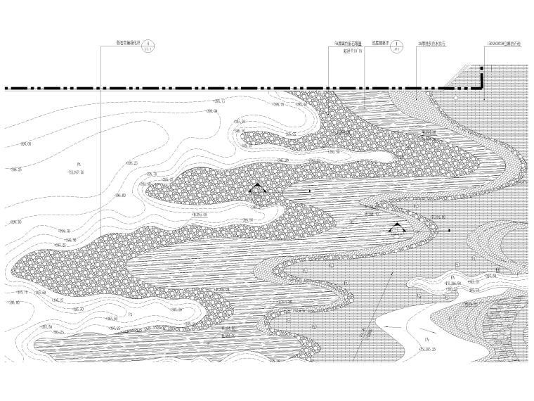 [香港]壹号居住区景观设计CAD施工图+实景图_5