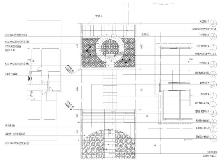 [香港]壹号居住区景观设计CAD施工图+实景图_7