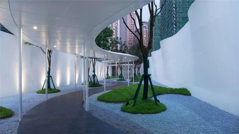 [香港]壹号居住区景观设计CAD施工图+实景图_12