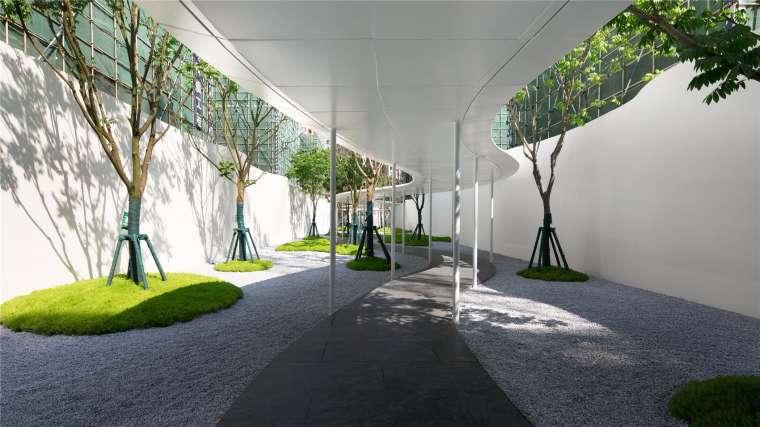[香港]壹号居住区景观设计CAD施工图+实景图_13
