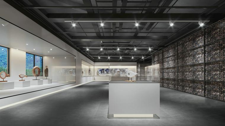 博物馆文化馆展示区3D模型+效果图_2
