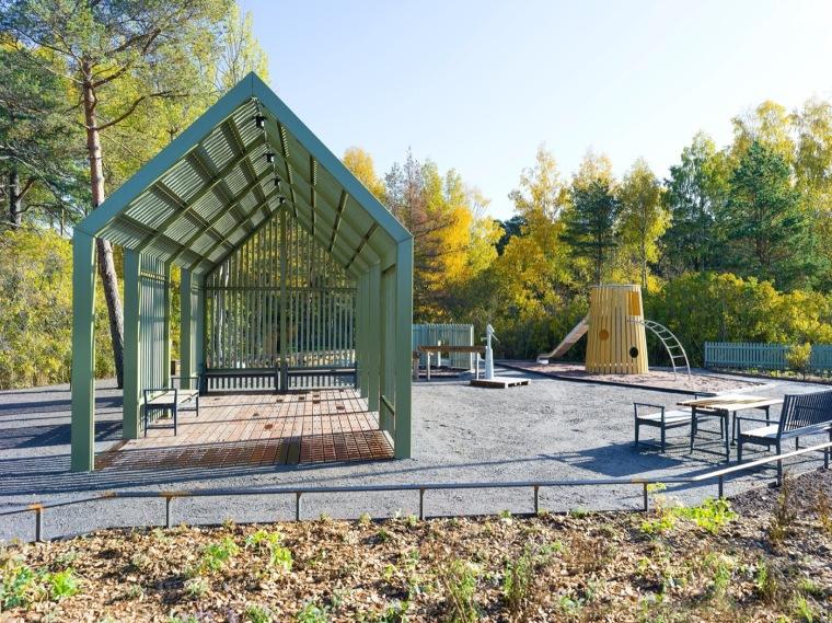瑞典乌普萨拉的新区公园_9