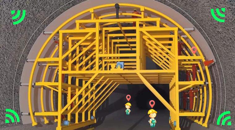 UWB高精度定位-隧道施工安全综合管理系统_1