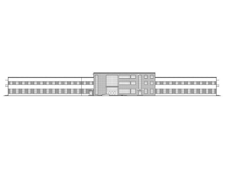[湖北]丙类多层框架结构厂房建筑施工图_1