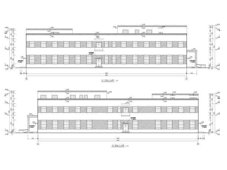 [湖北]丙类多层框架结构厂房建筑施工图_3