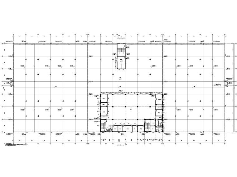 [湖北]丙类多层框架结构厂房建筑施工图_6