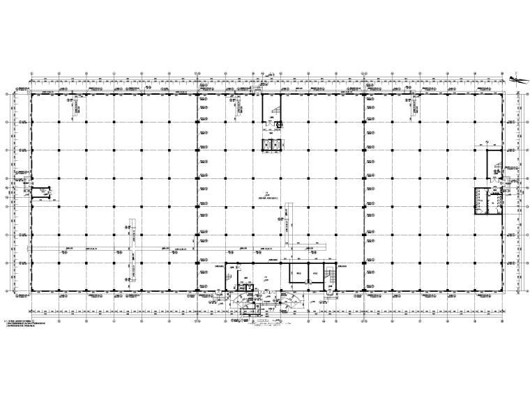 [湖北]丙类多层框架结构厂房建筑施工图_5