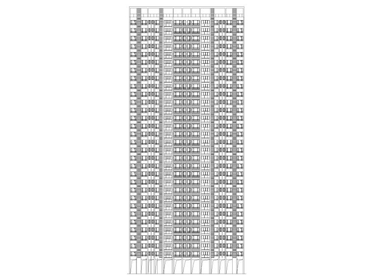 [广东]深圳高层单间式宿舍建筑施工图2017_1