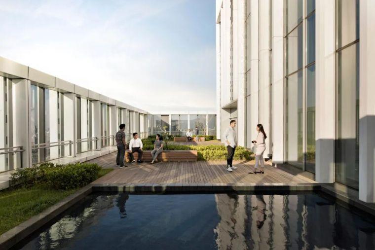 KPF新作品,独特的办公大厦类型!_20
