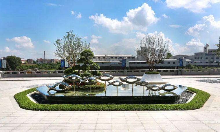 电建地产·泛澋公馆项目园林景观绿化工程-图片