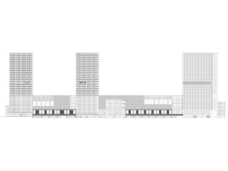 [广西]柳州多层大型商业购物中心建筑施工图_1