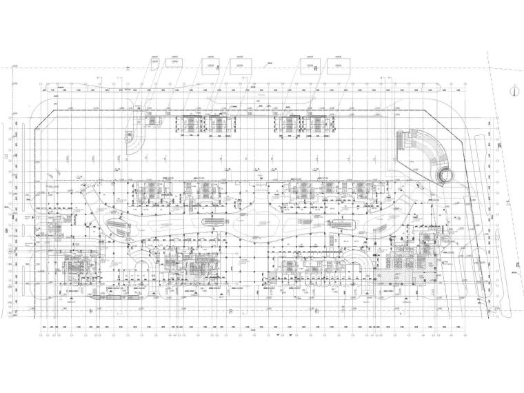 [广西]柳州多层大型商业购物中心建筑施工图_2