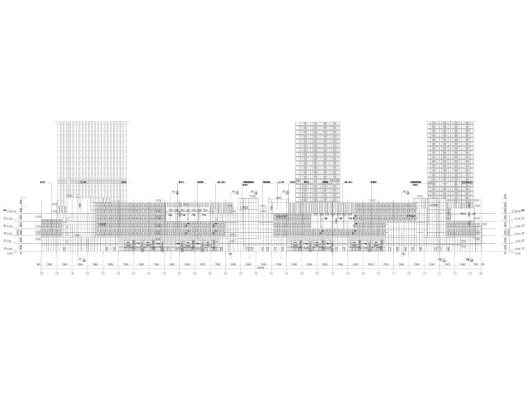 [广西]柳州多层大型商业购物中心建筑施工图_8