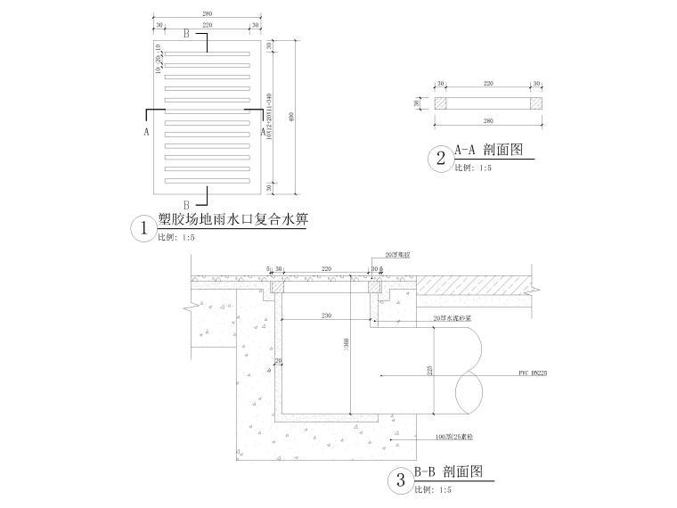 [浙江]宁波地铁站周边园林景观CAD施工图_9