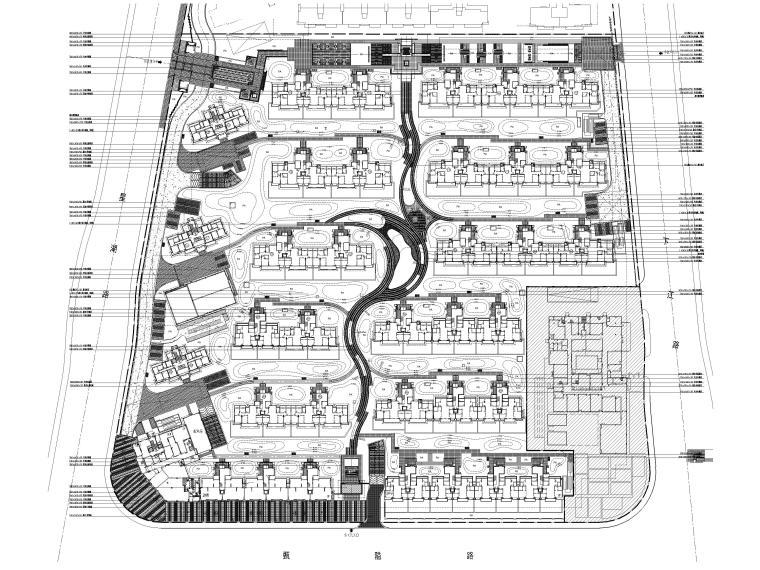 [浙江]宁波湾头居住区景观设计CAD施工图_2