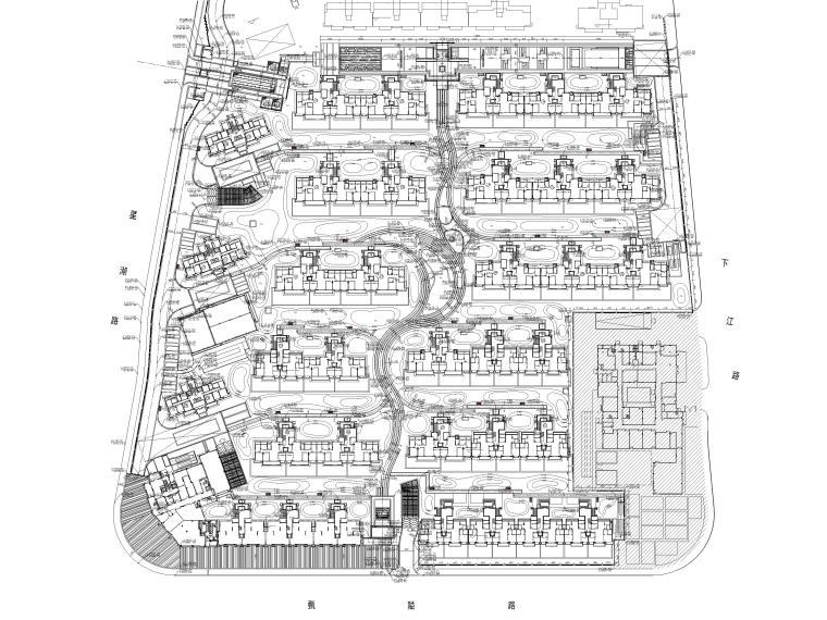 [浙江]宁波湾头居住区景观设计CAD施工图_4