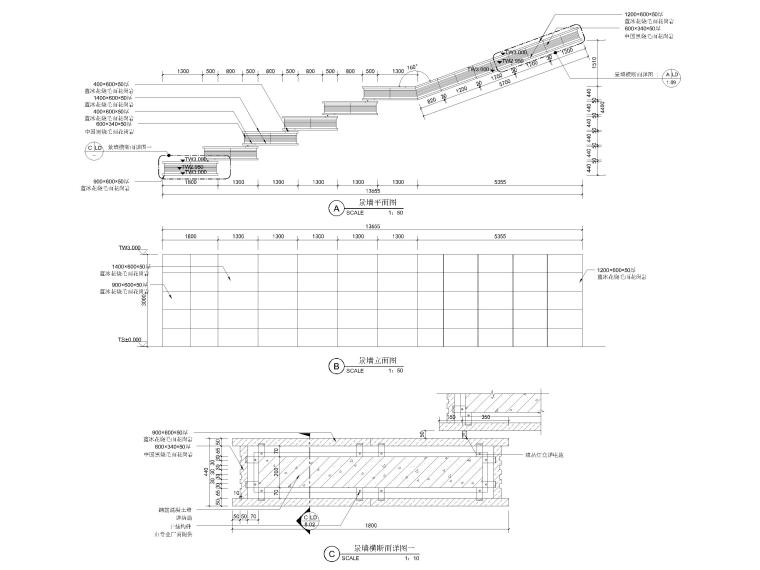 [浙江]宁波湾头居住区景观设计CAD施工图_14
