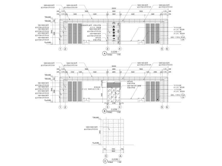 [浙江]宁波湾头居住区景观设计CAD施工图_12