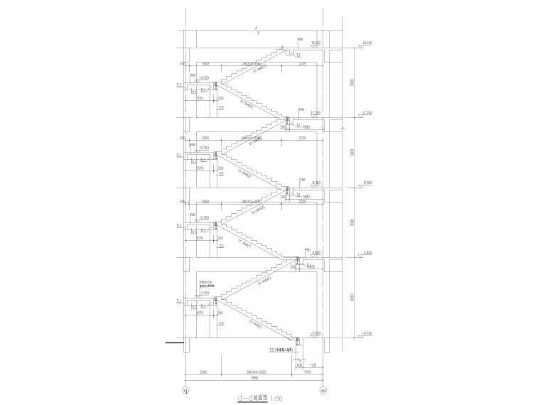 [江苏]5层装配整体框架结构教学楼结施2018_7