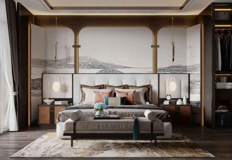 2021最新卧室设计 80款_70