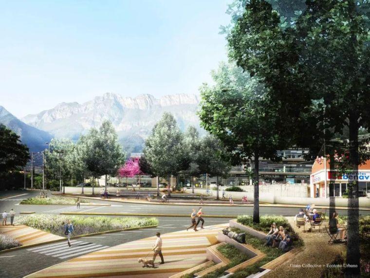 创意街景设计,满满的空间感!_43