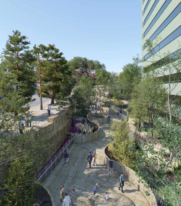 创意街景设计,满满的空间感!_46