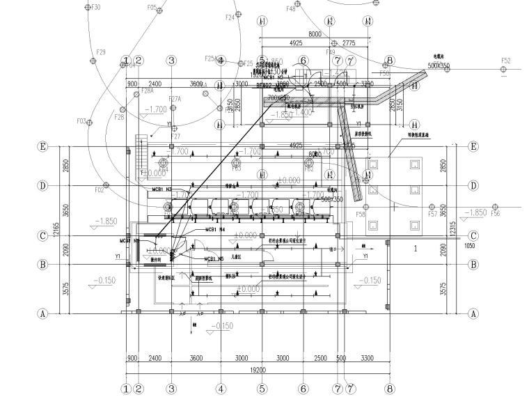 [江西]文化旅游城竹海秘境片区电气施工图_1