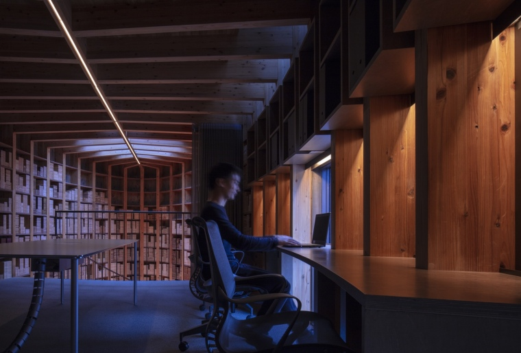 日本Maruhon福冈办公室和陈列室_7
