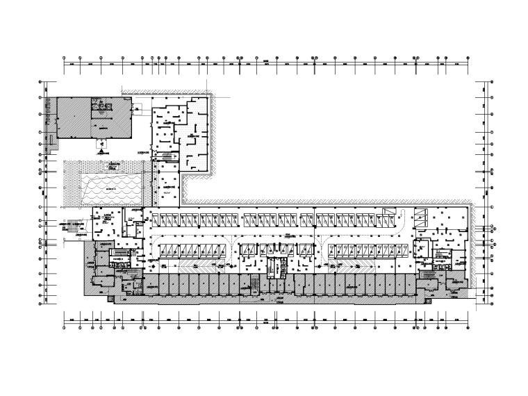 中铁_2.1万平地下车库及设备用房电气施工图_2