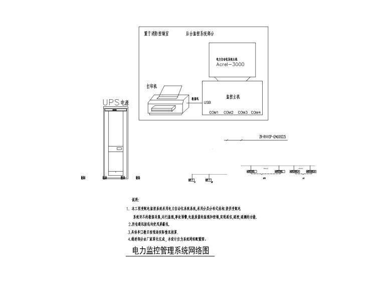 中铁_2.1万平地下车库及设备用房电气施工图_7