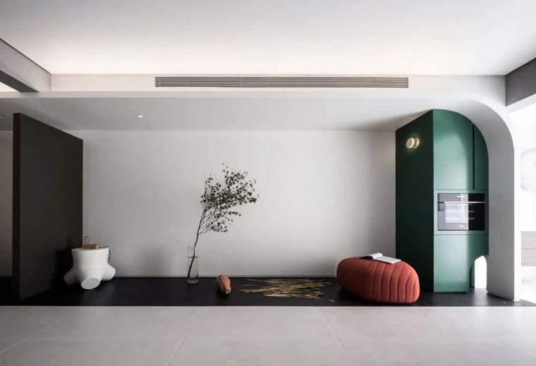 """68㎡两室一厅的""""美术馆"""",玩转空间戏法_5"""