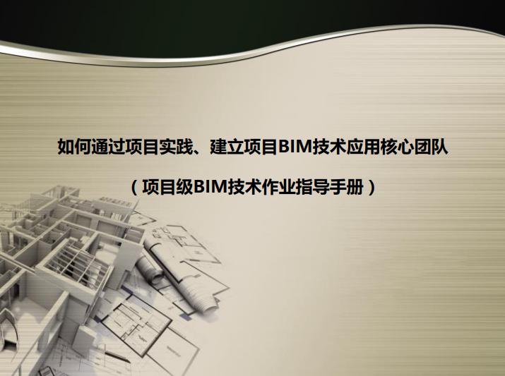 如何建立BIM技术应用团队培训资料(138页)_1