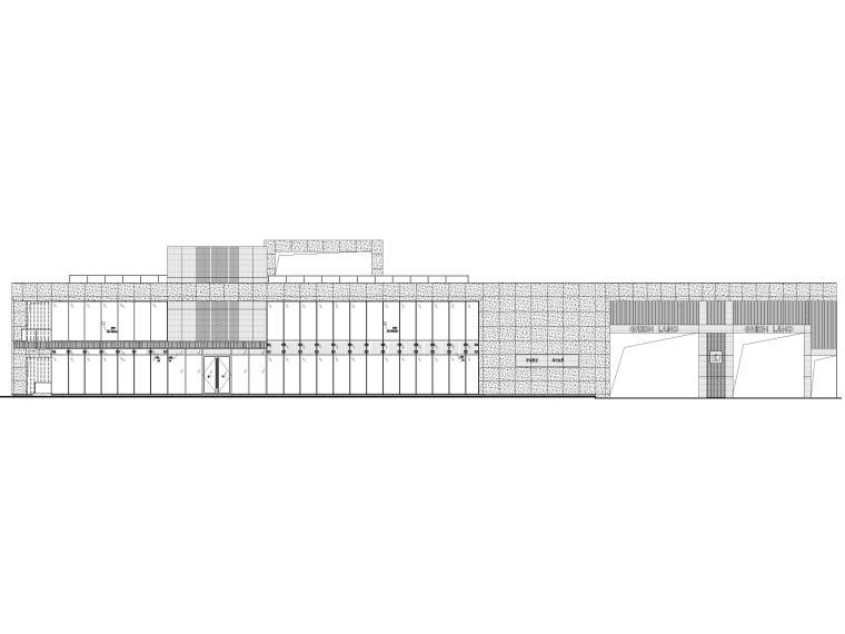 [上海]青浦普通商品房建筑竣工图+幕墙图纸_1