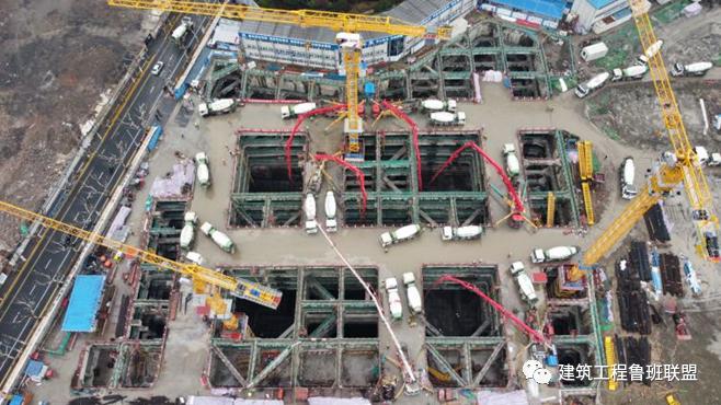 48小时完成3m厚15000m³底板浇筑!_22