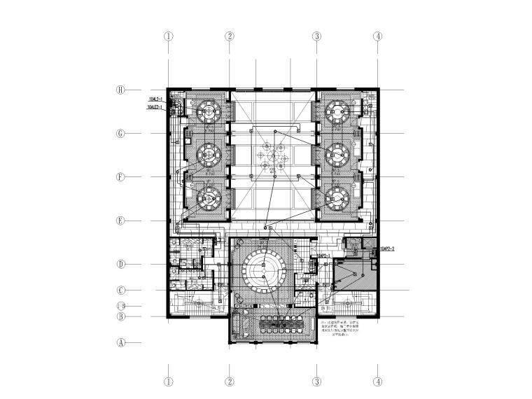 [河北]二层中餐厅电气施工图(2017)_2