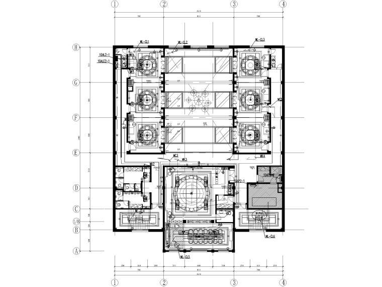 [河北]二层中餐厅电气施工图(2017)_1