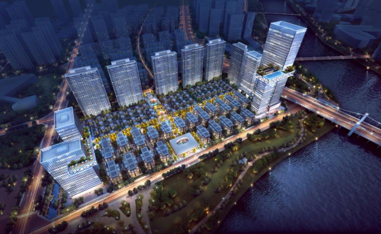 [成都]高层联排商墅住宅项目投标方案2019_1