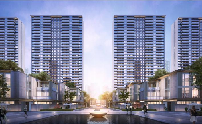 [成都]高层联排商墅住宅项目投标方案2019_2