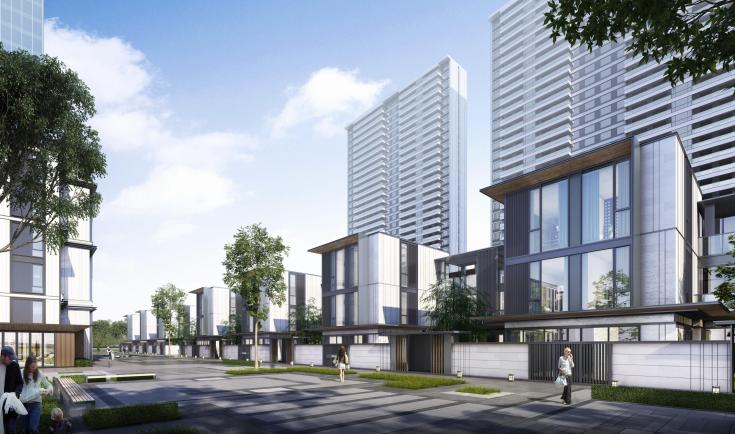 [成都]高层联排商墅住宅项目投标方案2019_3