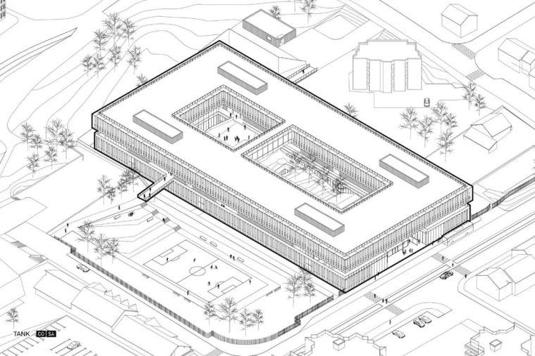 简单的构造形式——学校建筑_27
