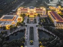 南京国际高尔夫酒店建筑景观实景丨110P